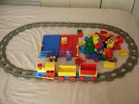 Lego Duplo Vintage Train Track and Train Set