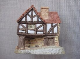 Set of Four 4 x David Winter Lilliput Lane / Cottages - 1980s - VGC
