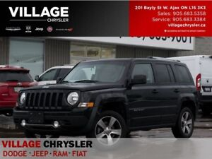 2017 Jeep Patriot HIGH ALTITUDE|4X4|Nav|Leather|Power Sunroof|Bl