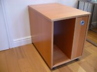Ikea Computer and Printer unit in Beech