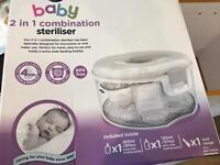Baby bottle steriliser,