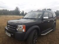 Land rover disc 3 ...in metalic black ..