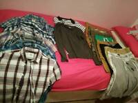 Boys holiday bundle, size small and xs