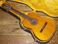 Giannini nylon string classical guitar 1970s made in Brazil