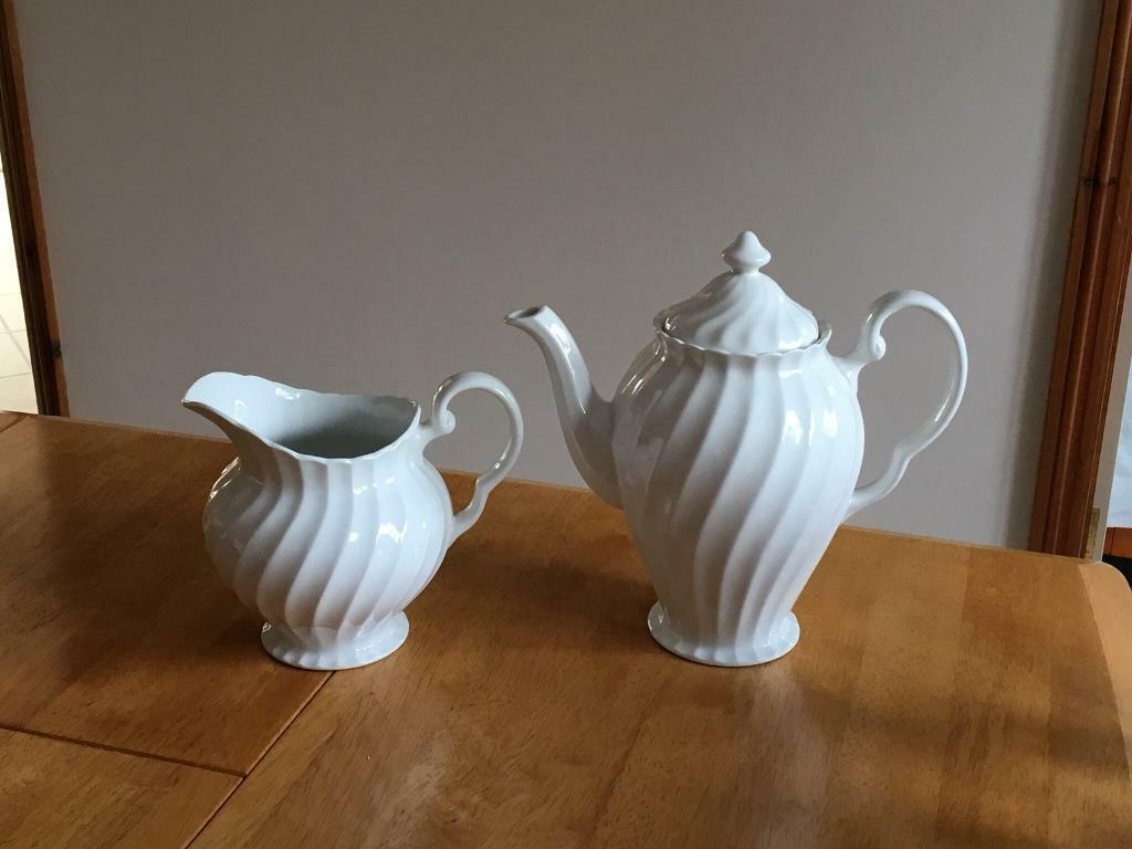 Coffee Pot & Matching Jug