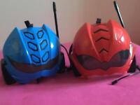Power Rangers Helmets