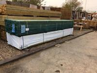 Blue Roofing battens 50mm x25mm 4.8m lengths sold in bundles of 10 quality Timber
