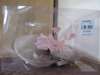 Jacques Vert Fascinator Pink R1G9205 Multi /900 Cost £79 Bargain at £35 OVNO