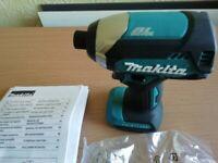 NEW MAKITA 18V BRUSHLESS IMPACT DRIVER BARE UNIT.