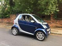 2003 Smart Fortwo Cabriolet Auto £30 Road Tax Heated Seats