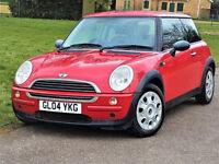 Automatic -- Mini COOPER Hatch 1.6 AUTO -- New MOT & Service -- 2 Keys --HPi Clear -Part Exchange OK