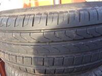 (x2) 205 55 16 Pirelli and Continental