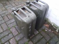Pair of Steel Jerry Cans