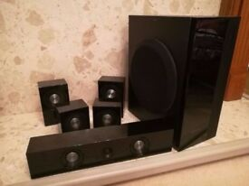 Samsung 500W Surround Sound Speakers and Sub Woofer