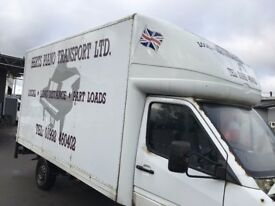 LUTON BOX BODY WITH TAIL LIFT FOR SALE
