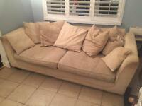 Two piece settee and twin sweat for free to collect