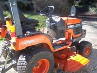 KUBOTA BX 2200 COMPACT TRACTOR,22HP,54in SIDE DISCHARGE,EXCELLENT CONDITION
