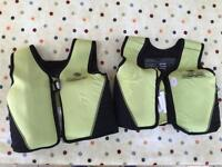 Beginners swimming flotation jackets 3-6 years