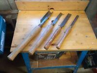 wood turning gouges