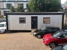 Steel Clad Office Container