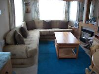 3 bedroom static caravan for rent