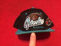 Vancouver Grizzlies Snapback NHL Baseball Cap