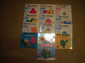Job lot MR MEN books x 13 Great Condition