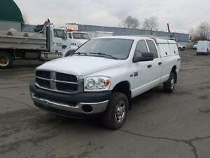 2009 Dodge Ram 2500 SXT Quad Cab Long Box 4WD w/ Canopy