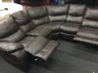 New/Ex Display LazyBoy Belair Corner Recliner Sofa (Left or Right Side Corner)