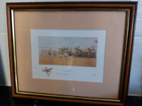 "Grand National Framed Print by "" Snaffles """