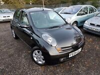 Nissan Micra 1.4 16v SX 5dr. PARKING SENSORS. LOW MILEAGE. HPI CLEAR.GOOD CONDITION. P/X WELCOME