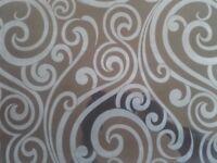 Italian Gloss Black Patterned Wall Tiles