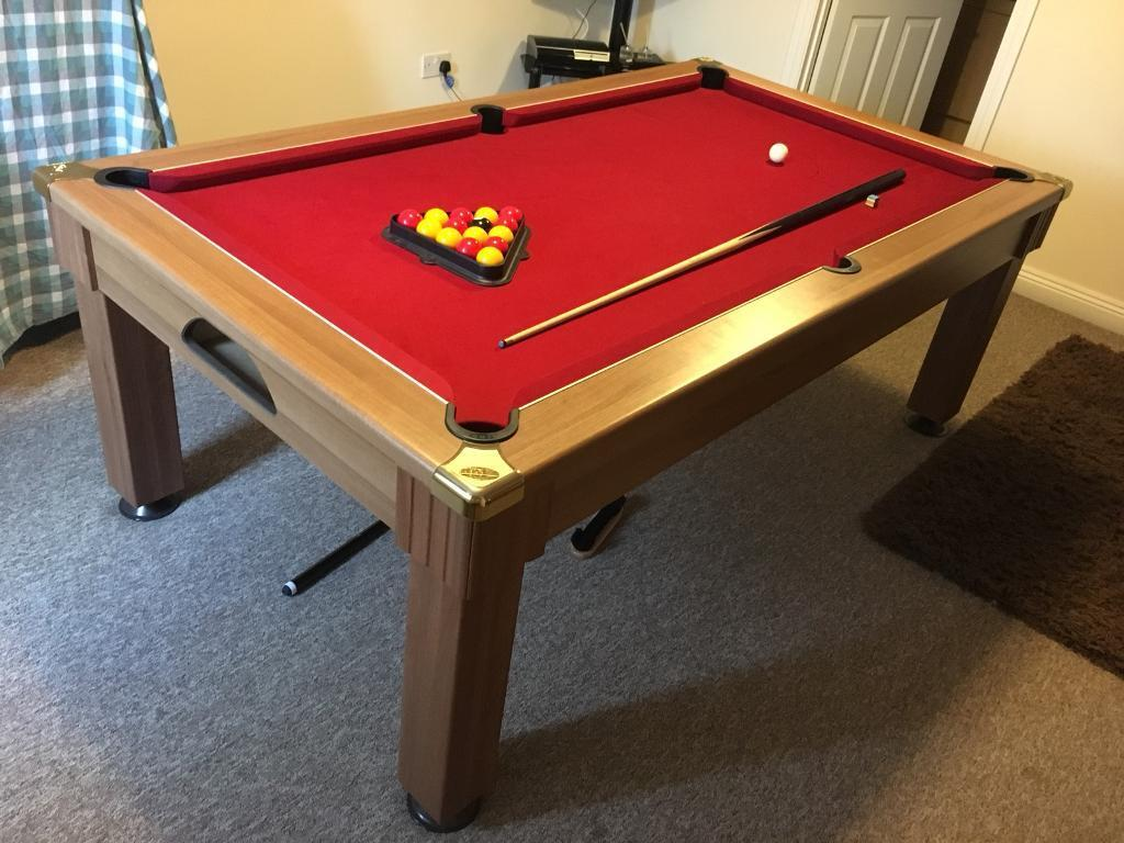 Full Size Dining Room Pool Table