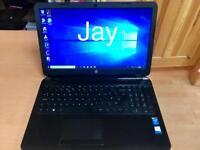 i3 8GB Slim Hp HD Laptop Massive 1TB(1000GB)Window10,Microsoft office,Ready
