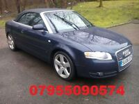 audi a4 convertible s line turbo diesel manual 2006 06 plate