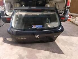 Peugeot 307 tail gate 04 black