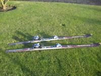 Rossignol Energy Carver Skis and/or Swix Viper Ski Poles