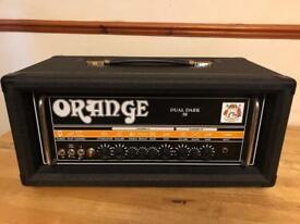 Orange Dual Dark 50 Valve Amp Head
