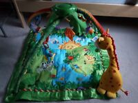 Fisher Price play / gym mat Rain forest