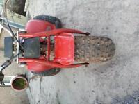 Honda 70cc trike barn find 1985