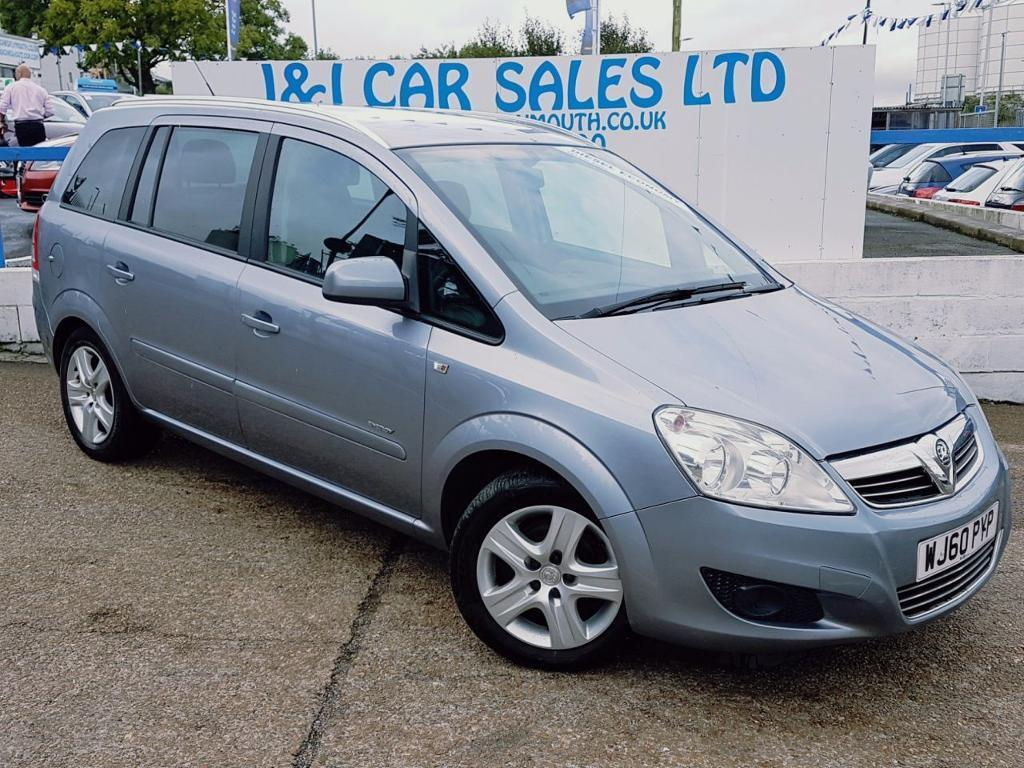 VAUXHALL ZAFIRA 1.7 ENERGY CDTI ECOFLEX 5d 108 BHP A GREAT EXAMPLE INSIDE AND OUT (silver) 2010
