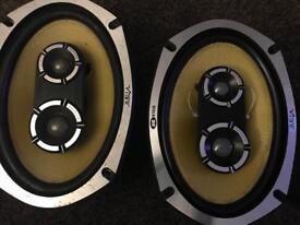 Vibe blackair 6x9 speakers - 525 watts each