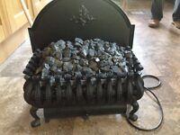 Coal effect electric fire