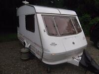 Elddis Vogue 212 2 Berth Caravan