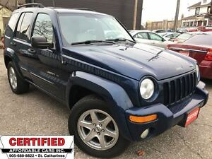2003 Jeep Liberty Limited ** 4X4, HTD LEATH, SUNROOF **