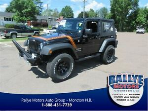 2015 Jeep Wrangler Sport! Soft Top! Spot Lights! 4x4!