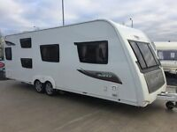 2014 Elddis Avante 636/6 - 6 Berth. Side Bunks. End Washroom. Like New.