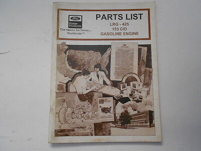 ford lrg 425 engine parts manual