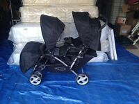 BRANDNEW STADIOUM DOUBLE BUGGY BY GRACO