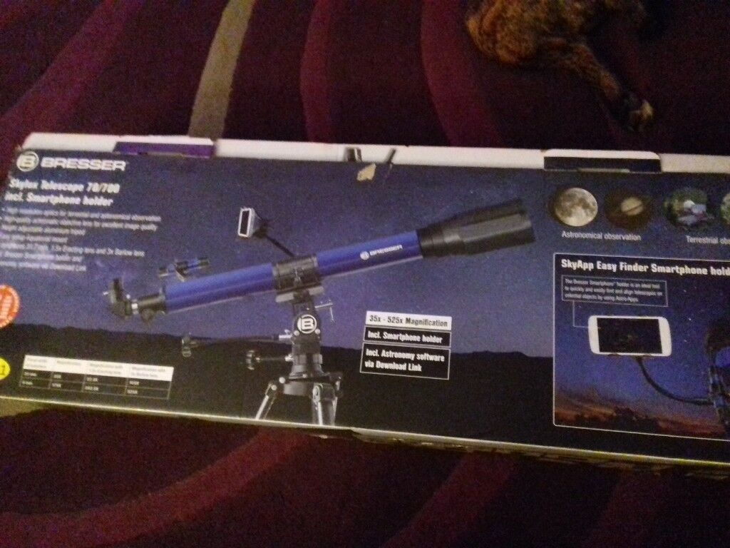 Bresser skylux telescope for sale in poole dorset gumtree